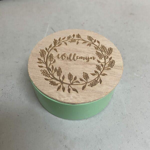 lasergravure op hout