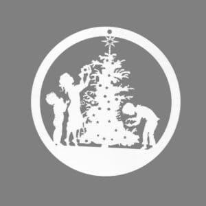 raamhanger kerstkindjes