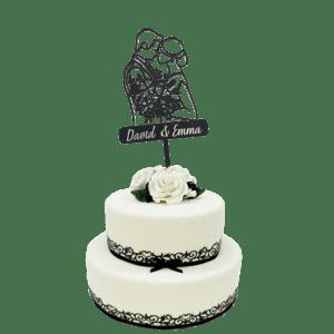 taarttopper bruid en bruidegom