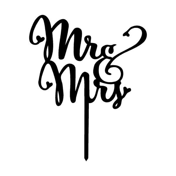taarttopper mr & mrs